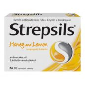 Strepsils Honey and Lemon szopogató tabletta 24 db